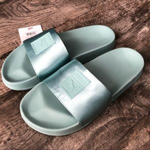 Puma sandals slides new shoes satin fenty